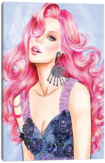 Pink RODARTE Canvas Art Print