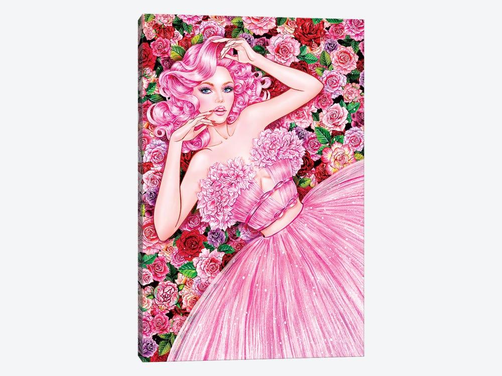 Rose Girl by Sunny Gu 1-piece Art Print