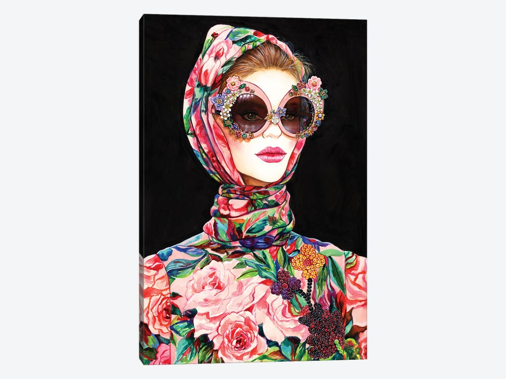 Bella DG by Sunny Gu 1-piece Canvas Print