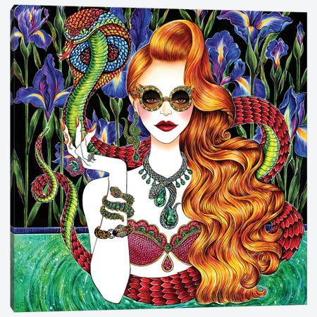 Serpent Canvas Print #SUN40} by Sunny Gu Canvas Art