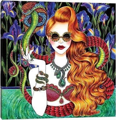 Serpent Canvas Art Print