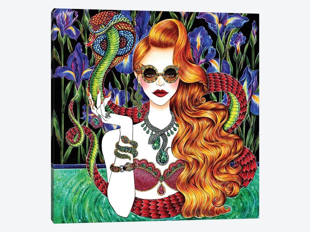 Serpent by Sunny Gu 1-piece Canvas Art Print