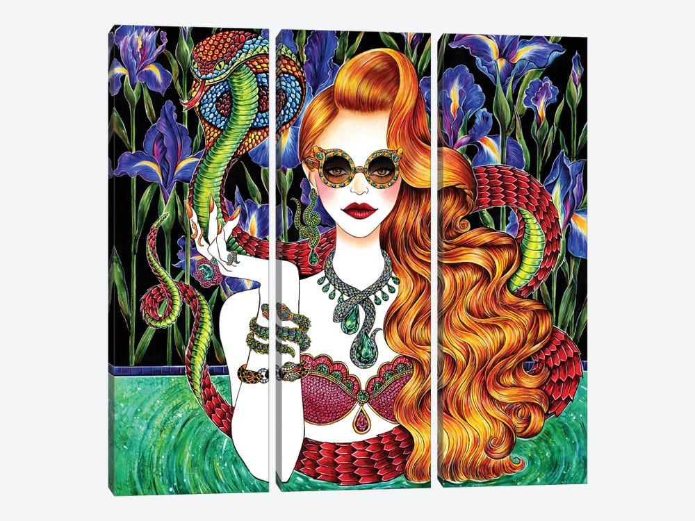 Serpent by Sunny Gu 3-piece Art Print
