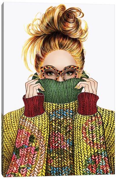 Sweater Season Canvas Art Print