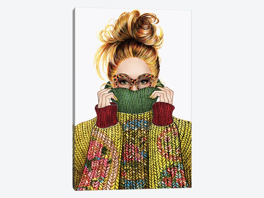 Sweater Season by Sunny Gu 1-piece Canvas Print