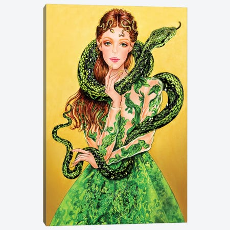 Valentino Serpent Canvas Print #SUN44} by Sunny Gu Canvas Art Print