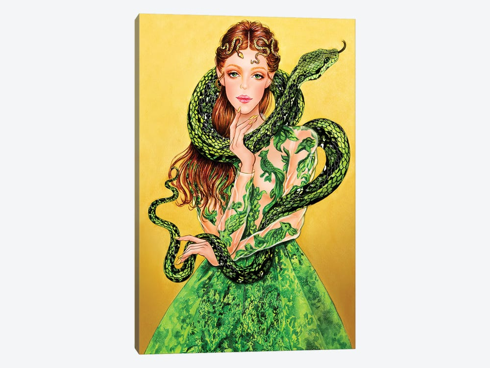 Valentino Serpent by Sunny Gu 1-piece Canvas Art Print