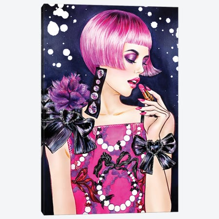 Lanvin Pearl Canvas Print #SUN49} by Sunny Gu Canvas Artwork