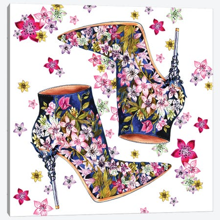 Ralph And Russo Shoes 3-Piece Canvas #SUN56} by Sunny Gu Canvas Art