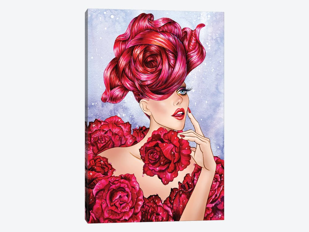 Rose by Sunny Gu 1-piece Canvas Print