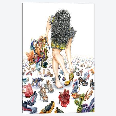 Merge Lighter Canvas Print #SUN62} by Sunny Gu Canvas Wall Art