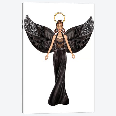 Lystmas Angel Givenchy Canvas Print #SUN67} by Sunny Gu Canvas Print