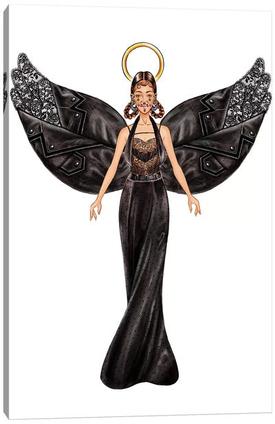 Lystmas Angel Givenchy Canvas Art Print