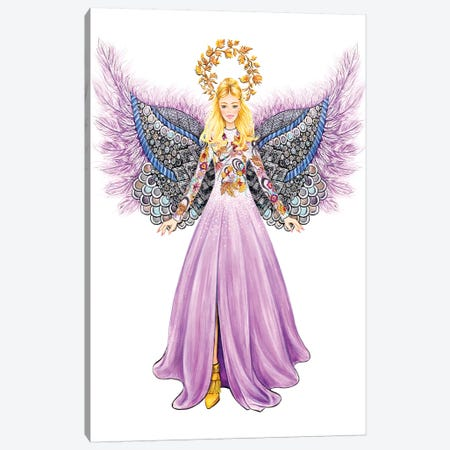Lystmas Angel Matthew Williamson Canvas Print #SUN68} by Sunny Gu Canvas Artwork
