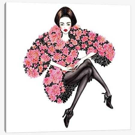 Chanel Couture Canvas Print #SUN6} by Sunny Gu Canvas Artwork