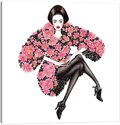 Chanel Couture Canvas Art Print