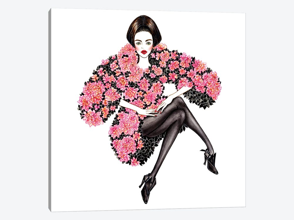 Chanel Couture by Sunny Gu 1-piece Canvas Wall Art