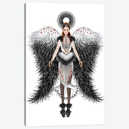 Lystmas Angel Proenza Canvas Print #SUN70} by Sunny Gu Canvas Art Print