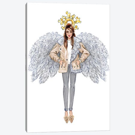 Lystmas Angel Tibi Canvas Print #SUN71} by Sunny Gu Canvas Print
