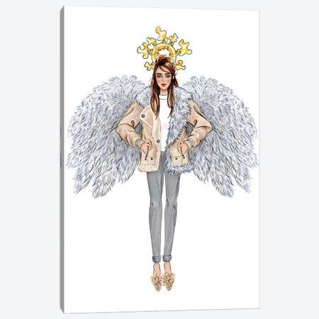 Lystmas Angel Tibi Canvas Print #SUN71} by Sunny Gu Canvas Print