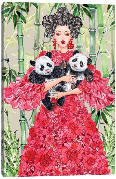 Valentino China Girl Canvas Art Print