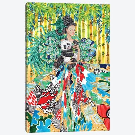 Gren Big Sleeve Canvas Print #SUN91} by Sunny Gu Canvas Art Print