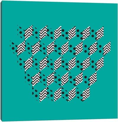Unfolding Patterns Canvas Art Print