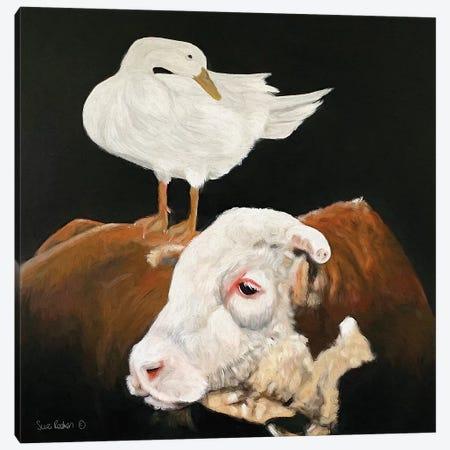 Patience and Pride Canvas Print #SUR4} by Suzy Redmond Canvas Print