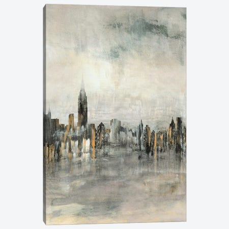 City Lights Canvas Print #SUS116} by Susan Jill Canvas Wall Art