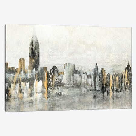 Bright City Lights Canvas Print #SUS129} by Susan Jill Canvas Art