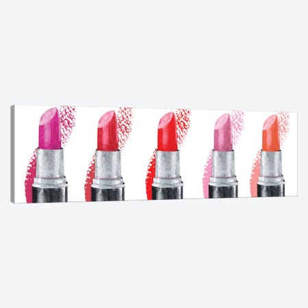 Lipstick Row Canvas Print #SUS141} by Susan Jill Canvas Artwork