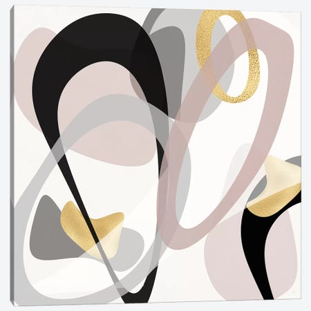 Tumbled Golden II Canvas Print #SUS147} by Susan Jill Canvas Art Print
