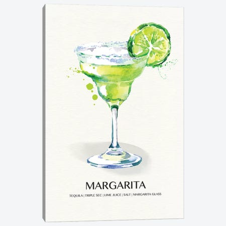 Margarita Canvas Print #SUS153} by Susan Jill Canvas Print