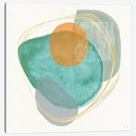 River Jewels I Canvas Print #SUS159} by Susan Jill Art Print