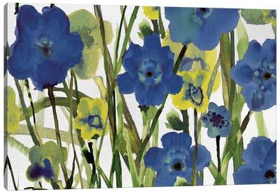 Picking Flowers Canvas Art Print