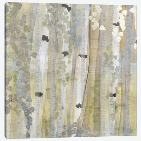 Spring Birch Grove I Canvas Print #SUS162} by Susan Jill Canvas Wall Art