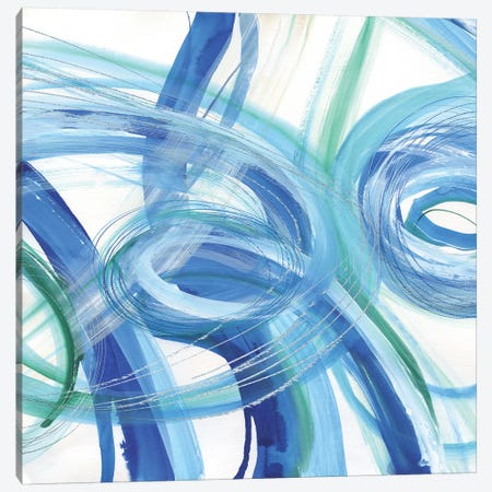 Blue Grotto I Canvas Print #SUS166} by Susan Jill Canvas Art Print