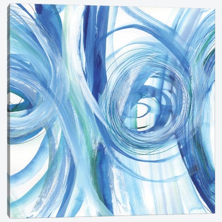 Blue Grotto II Canvas Print #SUS167} by Susan Jill Canvas Art Print