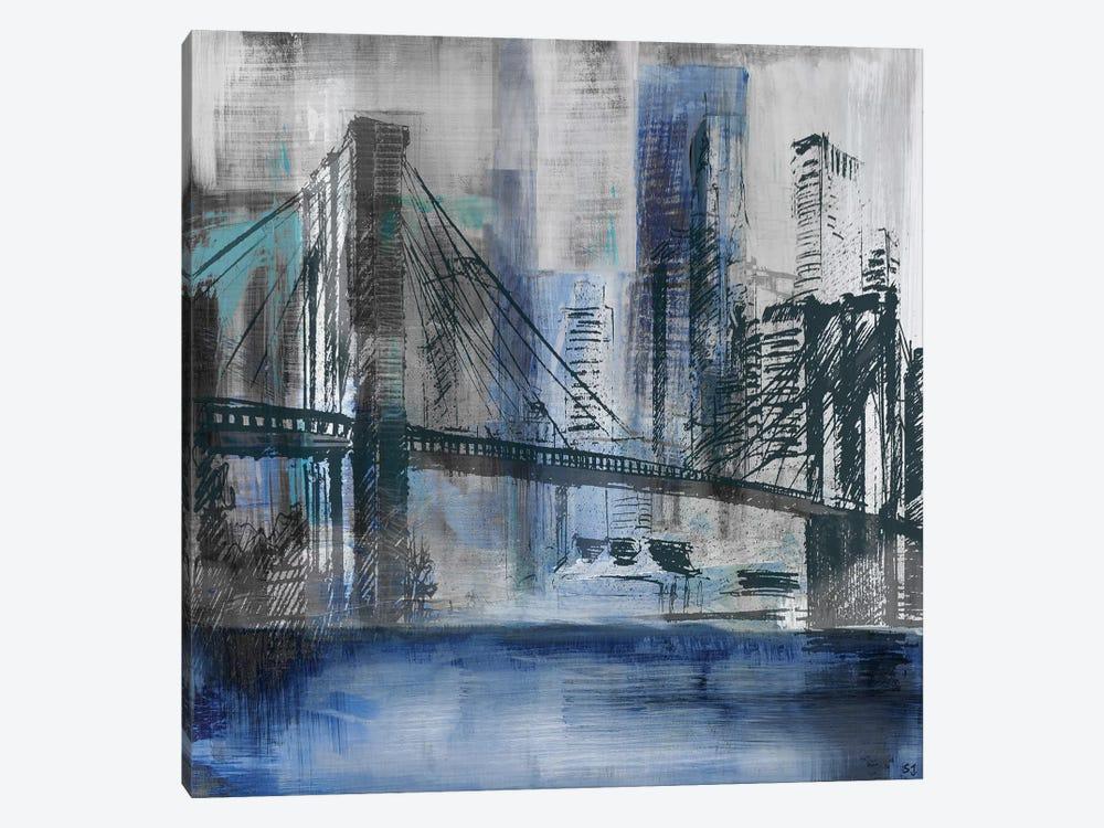 Brooklyn Bridge by Susan Jill 1-piece Canvas Wall Art