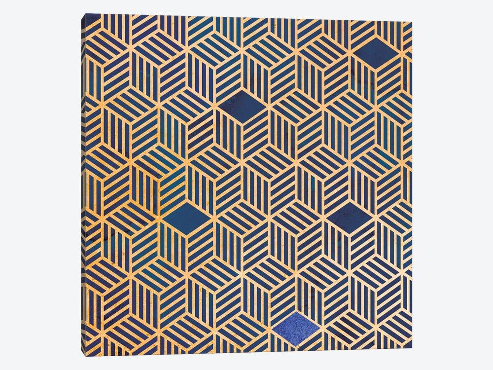 Lapis Box by Susan Jill 1-piece Canvas Wall Art