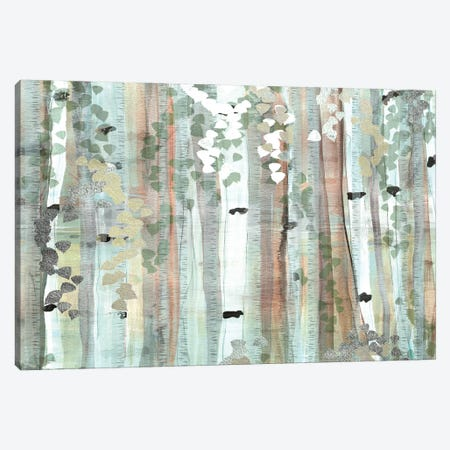 Spring Birch Meadow Canvas Print #SUS184} by Susan Jill Canvas Print