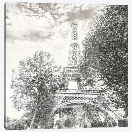 Eiffel Canvas Print #SUS188} by Susan Jill Canvas Wall Art
