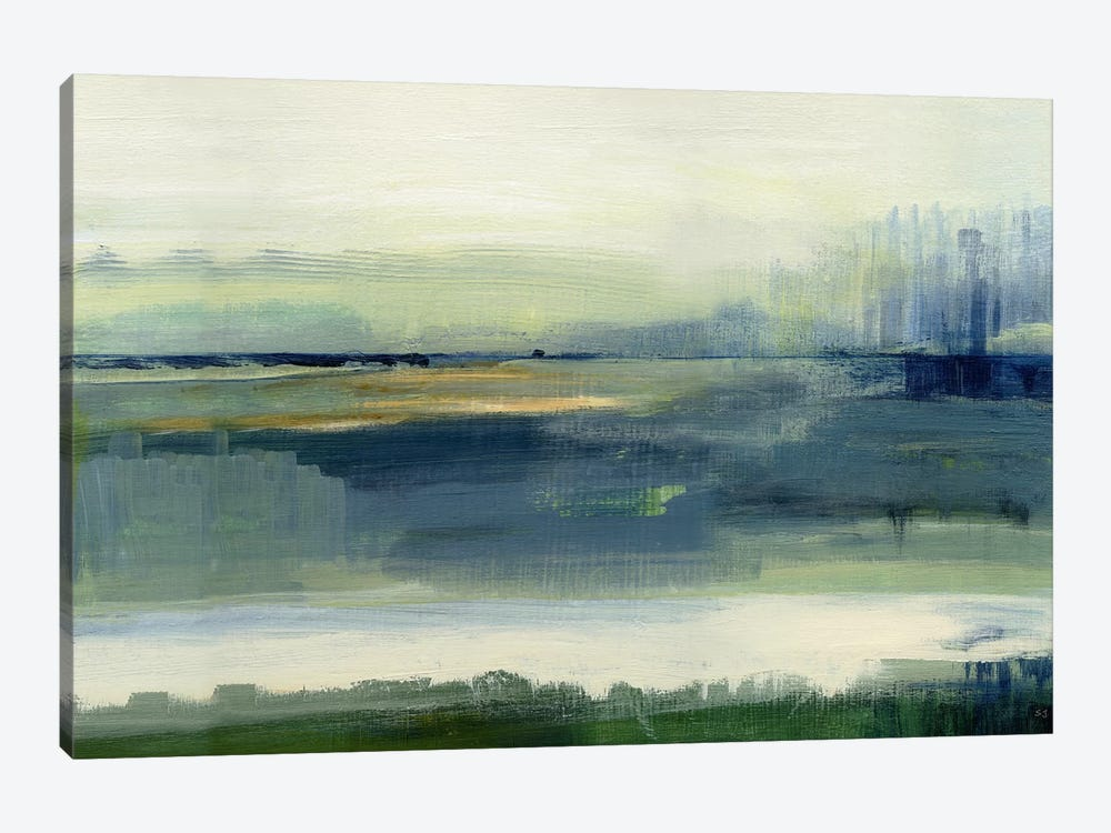 Glistening Meadow by Susan Jill 1-piece Canvas Wall Art