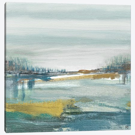 Lewbeach Canvas Print #SUS19} by Susan Jill Canvas Art