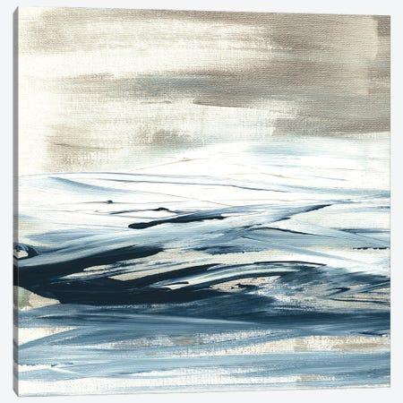 Tumultuous Indigo I Canvas Print #SUS215} by Susan Jill Art Print