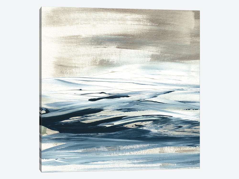 Tumultuous Indigo I by Susan Jill 1-piece Art Print