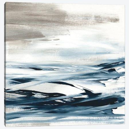 Tumultuous Indigo II Canvas Print #SUS216} by Susan Jill Art Print