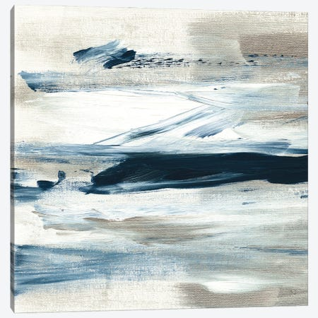 Tumultuous Indigo III Canvas Print #SUS217} by Susan Jill Canvas Print