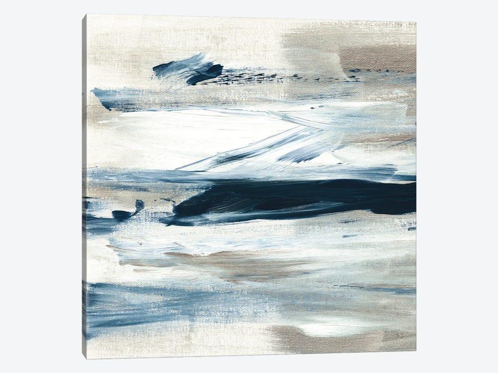 Tumultuous Indigo III by Susan Jill 1-piece Canvas Art Print