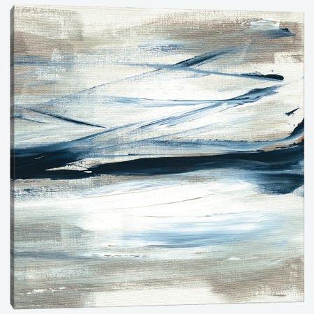 Tumultuous Indigo IV Canvas Print #SUS218} by Susan Jill Canvas Artwork